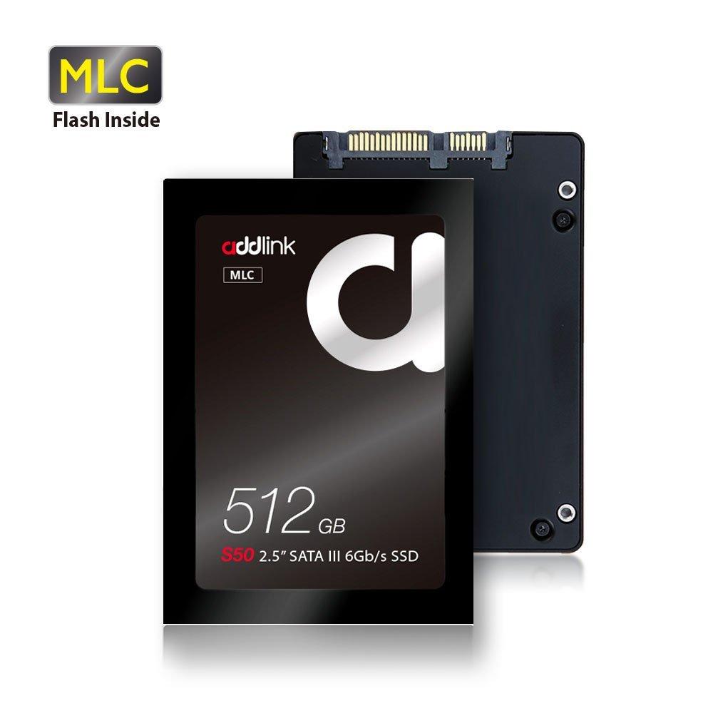 addlink S50 MLC SSD 512GB $94.99