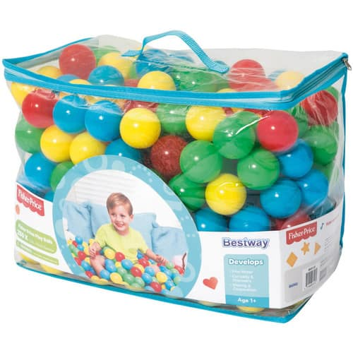 Half off! Fisher-Price 250 count 2.2inch Play Balls $15, and 500 count 2.5inch play balls $30 !! Free In- Store Pickup