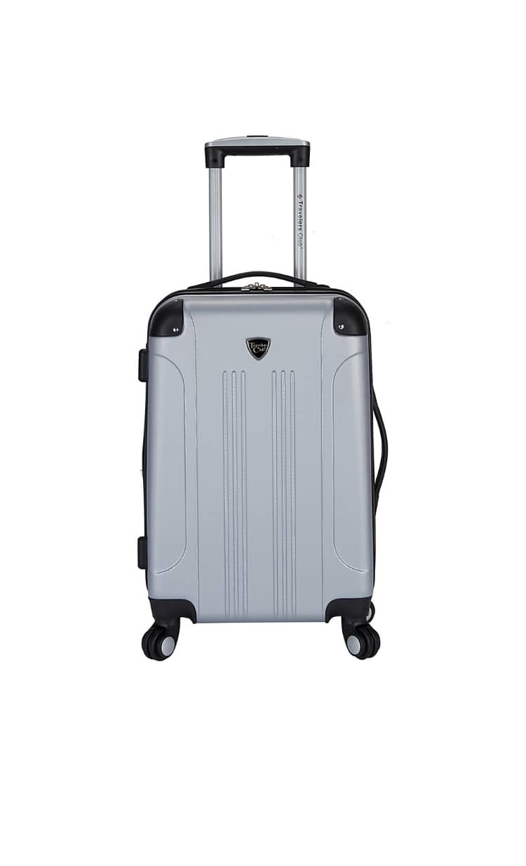 """Travelers Club Chicago 20"""" Hardside Spinner Suitcase (6 Available Color) - $29.99 + Free Shipping"""