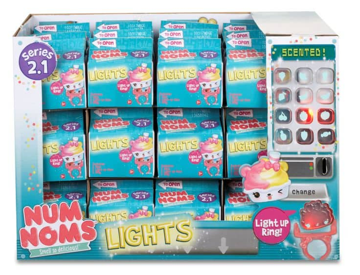 6-Pack of Num Noms Lights Mystery Series 2 Small Food Toy (Add-On) - $4.94 or less + Free Shipping over$25 (Free Ship with Alexa)