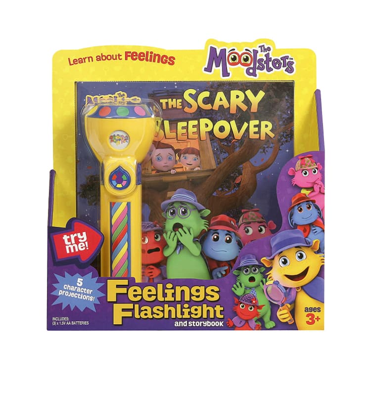 Moodsters, Feelings Flashlight and Storybook - $4.24 (add-on Item) (REG.$20) + Free Shipping over$25 or using Alex Hack