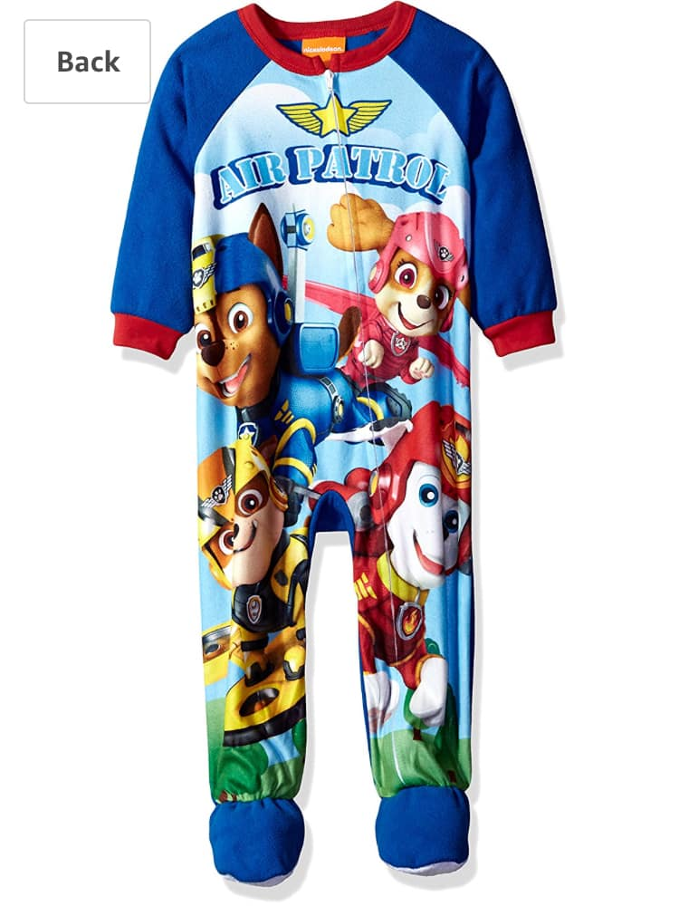 Amazon 75% off size 2T clothes- Nickelodeon Boys Paw Patrol Cotton Blanket Sleeper Size 2T (add-on) - $4.09 +Free Shipping with Alexa or over $25 (Reg Price is $18)