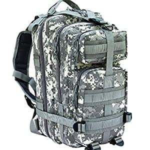 CVLIFE Outdoor Tactical Backpack Military Rucksacks for Camping Hiking and Trekking Waterproof 30L $29.99