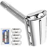 Double Edge Safety Razor + 5 Blades $10.99 at Amazon