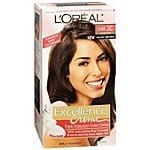 L'Oreal Paris Excellence Triple Protection Permanent Hair Color Creme in various colors as low as $4.69 plus shipping