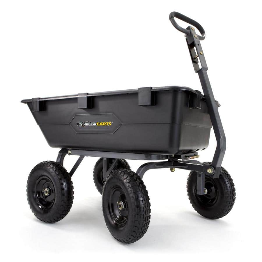 Lowe's, Gorilla Cart 6-CU ft poly yard cart  $51.60 YMMV