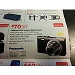 Panasonic ZS40 $280 @ Costco  (16GB card and case included) ZS-40