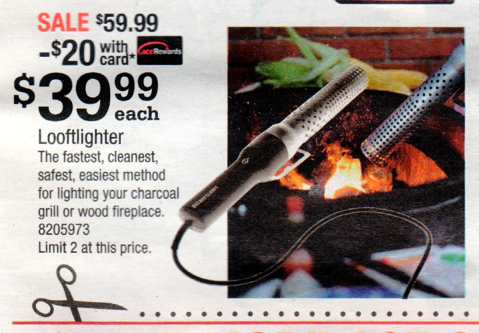 Looftlighter @ Ace hardware $39.99