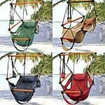 Swinging Hammock Chair (Assorted Colors) $24.89 + Free Shipping (lower than previous FP deal)