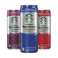Amazon Deal: Starbucks Refreshers Variety Pack, 12 Ounce Slim Cans, 12 Pack $9.96 (clip 25% coupon + subscribe&save)