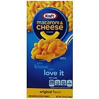 Amazon Deal: 35 boxes Kraft Macaroni and Cheese & other Mac deals - as low as $23.20 s&s Amazon