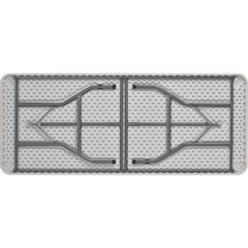Sandusky Lee PT7230 Commercial Folding Utility Table, 6', White - $34.82 Amazon