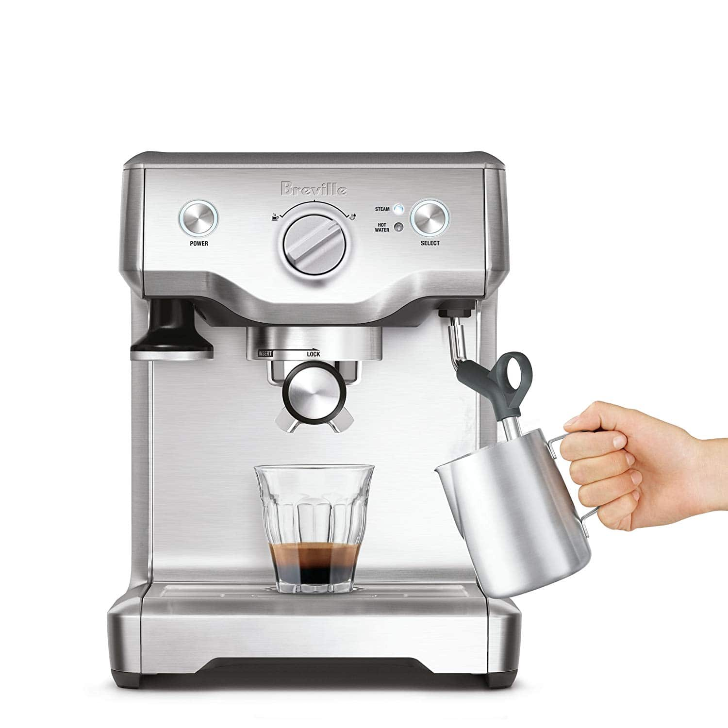 Breville Duo-Temp Pro Espresso Machine Stainless Steel (Refurbished) $249.99