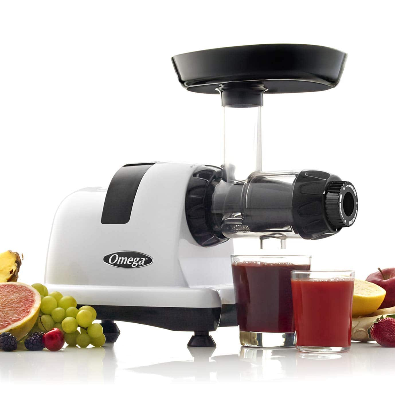 Omega J8006 Nutrition Center Quiet Dual-Stage Slow Speed Masticating Juicer (Open Box) $169.99