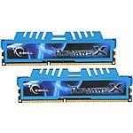 8 GB (2 x 4 GB) G.SKILL Ripjaws X Series 240-Pin DDR3 2400 (PC3 19200) CL11 1.65V Desktop Memory Kit (F3-2400C10D-8GZH) for $52.99 AC + Free Shipping @ Newegg.com