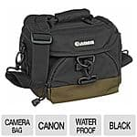 "Canon 100-EG Custom Black Waterproof Gadget Bag for Free After Rebate, Traveler's Club 30"" 2-Section Drop Bottom Rolling Duffel Bags for $4.99 AR + S&H @ TigerDirect.com"