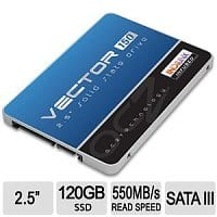 "TigerDirect Deal: 120 GB OCZ Vector 150 2.5"" SATA III Solid State Drive SSD (VTR150-25SAT3-120G) - $59.99 AC AR (or less) + Free Shipping @ TigerDirect.com"