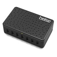 Amazon Deal: Bolse Black 5V/12A (60 Watts) 7-Port USB Wall/Desktop Charger with SmartIC Technology & Detachable 5 Ft. Power Cord (LC128) - $32.99 AC + Free Shipping @ Amazon.com