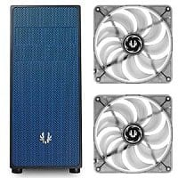 TigerDirect Deal: BitFenix Neos ATX Black/Blue Computer Case and 2-Pack of Bitfenix Spectre 120mm White LED Case Fans Bundle - $49.99 AR (or less) + Free Shipping @ TigerDirect.com