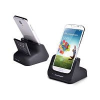 Amazon Deal: RAVPower Samsung Galaxy S4 Desktop Charging Cradle & Sync Dock with Free RAVPower 2800mAh Li-ion Battery For Samsung Galaxy S4 - $23.59 + Free Shipping @ Amazon.com