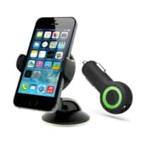 Meritline Deal: iOttie Easy Flex 3 Car Mount & Desk Stand for Smartphones + iOttie RapidVolt 5A/25W Dual Port USB Car Charger (Black or White) - $19.99 AC + FS @ Meritline.com