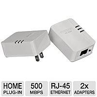 TigerDirect Deal: TRENDnet TPL-406E2K 500Mbps Powerline AV Adapter Kit (w/ 2 Units) - $19.99 + Free Shipping @ TigerDirect.com