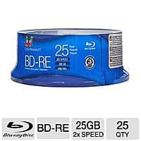 TigerDirect Deal: 25-Pack of Color Research 25 GB 2x BD-RE Media (C18-42023) for $9.99 AC AR or 50-Pack of Color Research 25 GB 6x BD-R Media (C18-42021) for $19.99 AR + FS @ TigerDirect.com