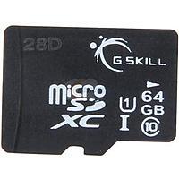 Newegg Deal: 64 GB G.SKILL Class 10 UHS-1 microSDXC Flash Card (FF-TSDXC64GN-U1) - $23.49 AC Shipped @ Newegg.com