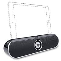 Inateck Dual-Driver Portable Wireless Bluetooth Speaker w/ Viewing Cradle for Smartphones & Tablets (BP2001) - $24.99 AC + Free Shipping w/ Prime or FSSS @ Amazon.com