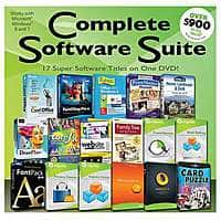 TigerDirect Deal: PC Treasures Complete Software Suite on DVD (50884) or PC Treasures Family Software Suite Deluxe on DVD (50871) for Free After Rebate + S&H @ TigerDirect.com