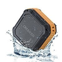 Amazon Deal: Omaker M4 Square Shockproof & Splashproof Bluetooth Portable Speaker with NFC (Orange) for $19.99 AC + Free Shipping w/ Prime or FSSS @ Amazon.com