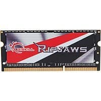 Newegg Deal: 8 GB G.SKILL Ripjaws Series 204-Pin DDR3L 1600 (PC3L 12800) CL9 1.35V Laptop Memory Module (F3-1600C9S-8GRSL) for $45.99 + Free Shipping @ Newegg.com