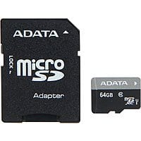 Newegg Deal: 64 GB ADATA Premier Class 10 UHS-1 microSDXC Flash Card with Adapter (AUSDX64GUICL10-RA1) for $19.99 + Free Shipping @ Newegg.com (Starting at 10 AM PT)