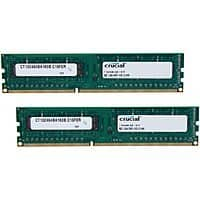 TigerDirect Deal: 16 GB (2 x 8 GB) Crucial 240-pin DDR3 1600 (PC3-12800) CL11 1.5V Desktop Memory Kit for $69.99 AR (or less) + Free Shipping @ TigerDirect.com