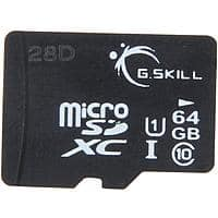 Newegg Deal: Flash Memory: 64 GB G.SKILL Class 10 UHS-1 microSDXC Flash Card for $18.23 AC, 32 GB ADATA DashDrive UV128 USB 3.0 Flash Drive for $9.98 AC & More @ Newegg.com