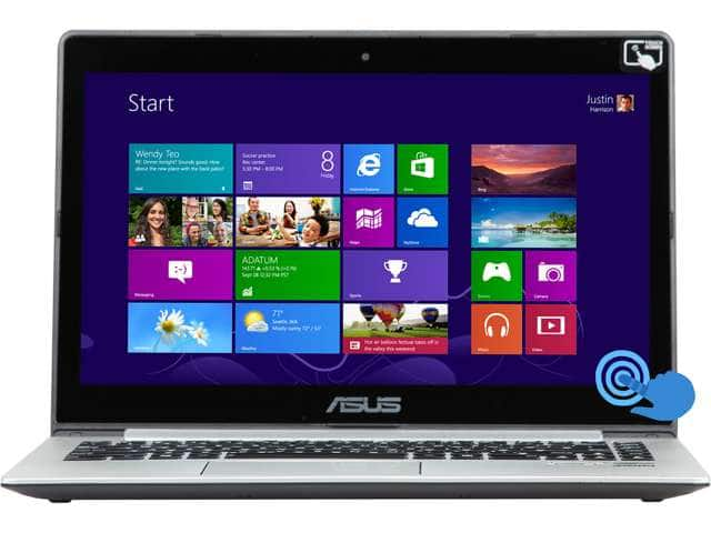 "Refurbished ASUS VivoBook S400CA-BSI3T12 14"" Touchscreen Ultrabook w/ Intel Core i3 3217U (1.80GHz), 4 GB DDR3, 500 GB HDD, 24 GB SSD & More - $279.99 AR + FS @ Newegg.com"