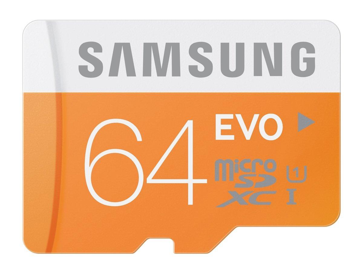 64 GB Samsung EVO Class 10 UHS-1 microSDXC Flash Card with Adapter (MB-MP64DA/AM) - $35.24 + Free Shipping @ Amazon.com