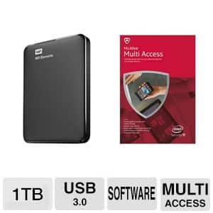 """240 GB OCZ ARC100 Series 2.5"""" SATA III Solid State Drive and and McAfee Multi-Access (1 User 5 Devices) Bundle for $29.99 AR w/ PayPal & Much More @ TigerDirect.com"""