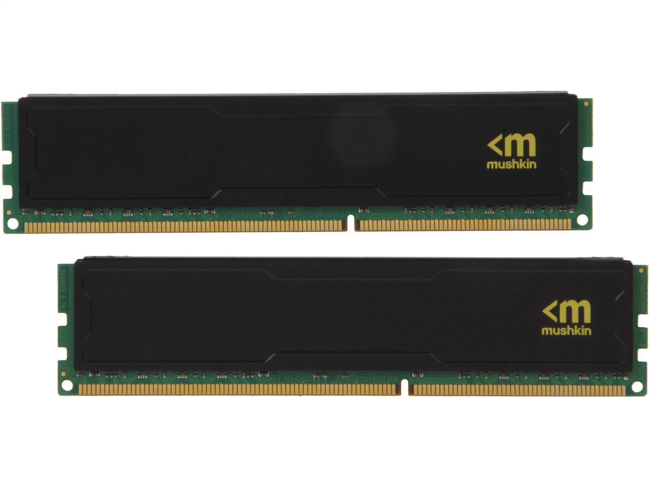 PC Components: 16 GB (2 x 8 GB) Mushkin Enhanced Stealth 240-Pin DDR3 1600 (PC3 12800) CL9 1.5V Desktop Memory Kit for $74.99 & More + Free Shipping @ Newegg.com