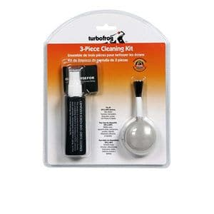 Turbofrog 3-Piece Cleaning Kit with Cleaning Solution, Microfiber Cloth & Dust Brush (T06-42087) for Free After Rebate + S&H @ TigerDirect.com