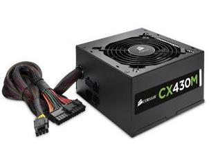 PC Hardware: 430W Corsair CX430M 80+ Bronze Semi-Modular Power Supply for $24.99 AR, Antec VSK3000E Mid Tower Case for $14.99 AR & More + Free Shipping @ TigerDirect.com
