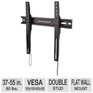 "A/V Accessories: Omnimount 37"" to 55"" Black Fixed HDTV Wall Mount Bracket for $1.99 AR & More @ TigerDirect.com"