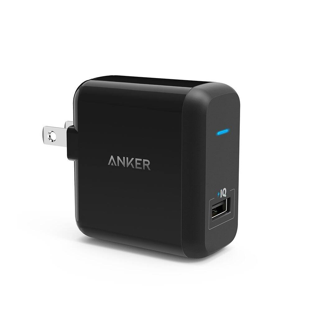 Anker PowerPort+ 1 (18W Quick-Charge 2.0 Wall Charger) for $6.99 AC, Anker PowerDrive+ 1 (24W Quick-Charge 2.0 Car Charger) for $5.99 AC & More + FSSS or FS w/ Prime @ Amazon.com