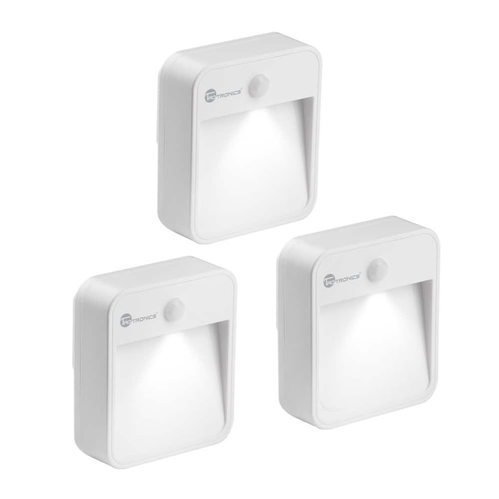 TaoTronics 3-Pack of Motion Sensor Indoor Wide-Angled Illlumination Night Lights for $12.99 AC + FSSS or FS w/ Prime @ Amazon.com