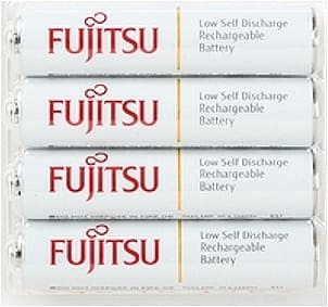 2 Ct. of Fujitsu 4-Pack AAA 800 mAh 2100 Cycle Ni-MH Pre-Charged Rechargeable Batteries (HR-4UTCEX(4B) for $9.98 + Free Shipping @ Newegg.com