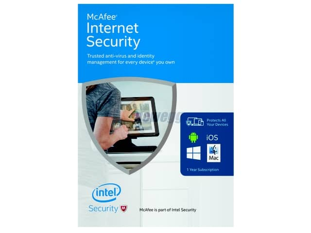 McAfee Internet Security 2016 (Unlimited Devices) for Free After Rebate + S&H or $25 Overstock Gift Card for $20.00 @ Newegg.com
