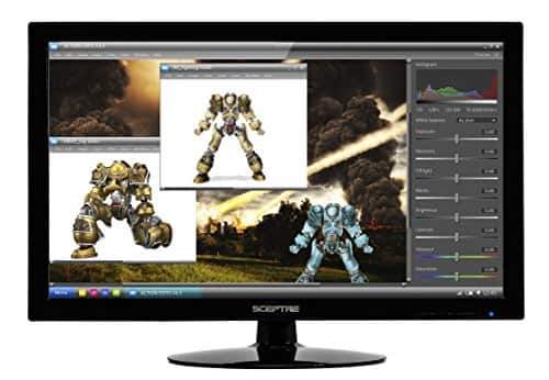 """27"""" Sceptre E275W-1920 Black 1920x1080 5ms HDMI LED Monitor with Built-In Speakers for $129.99 + Free Shipping @ Newegg.com"""
