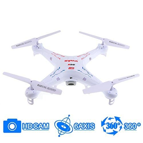 Syma X5C Explorers 2.4G 4CH 6-Axis Gyro RC Quadcopter With HD Camera for $39.99 + Free Shipping @ Newegg.com