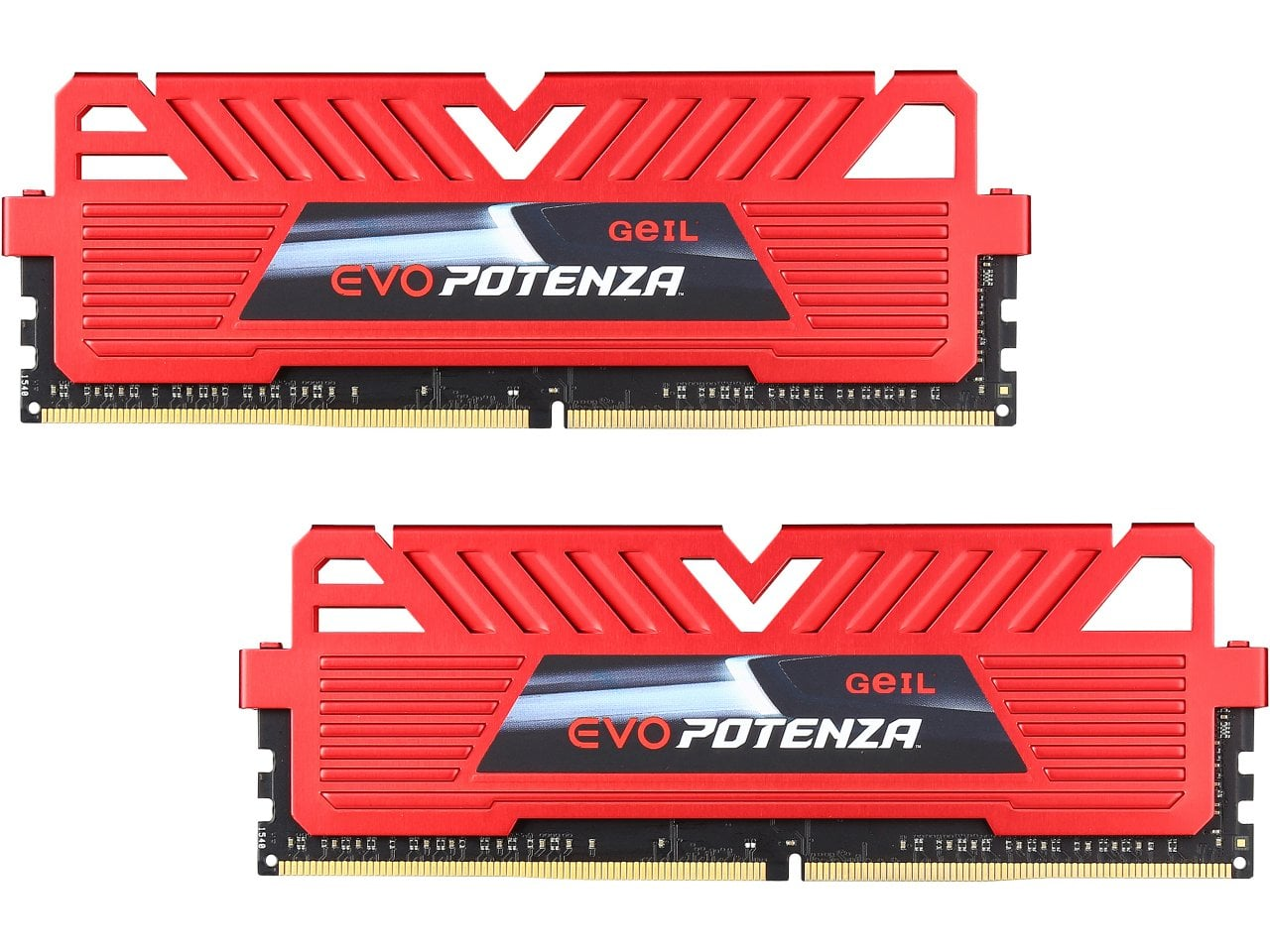 16 GB (2 x 8 GB) GeIL EVO POTENZA 288-Pin DDR4 2400 Desktop Memory for $48.99, 16 GB (2 x 8 GB) G.SKILL Ripjaws V 288-Pin DDR4 3000 Desktop Memory for $59.99 & More @ Newegg.com