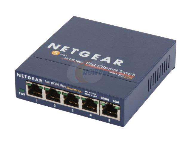 5-Port Netgear ProSAFE FS105 Unmanaged 10/100 Ethernet Switch for $3.99 AR (or less), D-Link DIR-880L AC1900 Dual-Band Wireless Gigabit Router for $109.99 AR & More @ Newegg.com